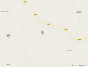 168. srdjevici mapa